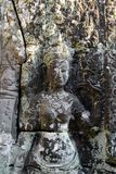CAMBODIA SIEM REAP ANGKOR BANTEAY KDEI TEMPLE royalty free stock photo