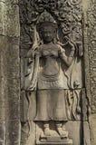 Cambodia Siem Reap Angkor Wat Bayon Temple Stock Photo