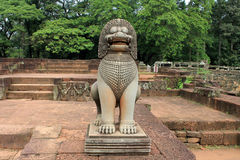 Cambodia Siem Reap Elephant Terrace Royalty Free Stock Images