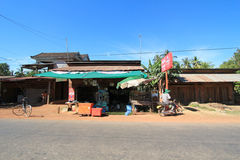 Cambodia Siem Reap street view Stock Photography