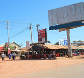 Cambodia Siem Reap street view Royalty Free Stock Photography