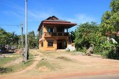 Cambodia Siem Reap street view Stock Photos