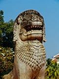 Cambodia, Siem Reap - town square statue Stock Photo