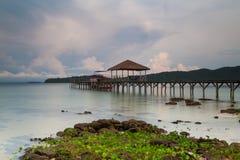 Cambodia Sihanouk high trestle Long Island Salem Stock Image