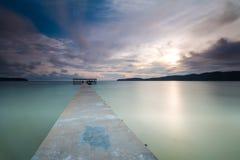 Cambodia Sihanouk high trestle Long Island Salem Stock Images