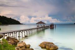 Cambodia Sihanouk high trestle Long Island Salem Royalty Free Stock Images