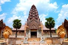cambodia slott arkivbilder