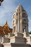 cambodia slottkunglig person Arkivbild