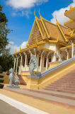 cambodia slottkunglig person Arkivfoto