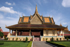 cambodia slottkunglig person Royaltyfri Fotografi