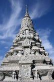 cambodia slottkunglig person Arkivbilder