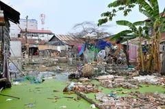 Cambodia Slum Royalty Free Stock Image
