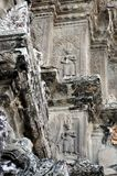 Cambodia - Statues from Angkor Wat temple Stock Photo