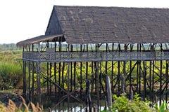 Cambodia Stilt House Royalty Free Stock Image