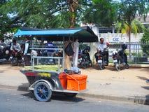 Cambodia Street Scene - Roadside stall Stock Images