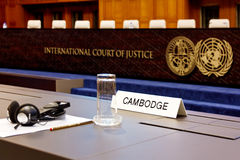 Cambodia takes temple row to ICJ Royalty Free Stock Image