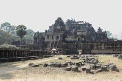 cambodia tempel Royaltyfria Foton
