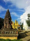 cambodia tempel Arkivbild