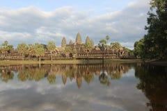 cambodia Tempio di Angkor Wat Città di Siem Reap Provincia di Siem Reap Fotografia Stock