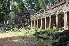 cambodia Tempio di Banteay Chhmar Provincia di Banteay Meanchey Sisophon Sity Fotografia Stock