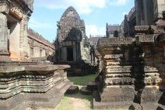 cambodia Tempio di Banteay Samre Provincia di Siem Reap Città di Siem Reap Fotografie Stock Libere da Diritti