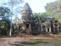 cambodia Tempio di Thommanon Provincia di Siem Reap Città di Siem Reap Immagini Stock Libere da Diritti