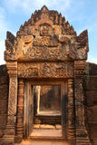 Cambodia, temple Banteay Srei Stock Photos