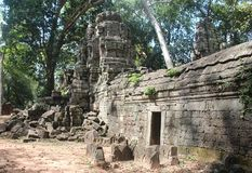 cambodia Temple de Banteay Chhmar Province de Banteay Meanchey Sisophon Sity Images stock
