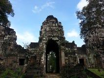 cambodia Temple de Preah Khan Kampong Svay et x28 ; Prasat Bakan et x29 ; Province de Preah Vihear Ville de Siem Reap Image libre de droits