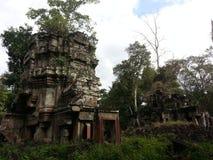 cambodia Temple de Preah Khan Kampong Svay et x28 ; Prasat Bakan et x29 ; Province de Preah Vihear Ville de Siem Reap Photographie stock libre de droits
