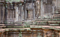 Cambodia temple embossing Stock Image