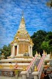 Cambodia Temple. Ornate temple in Phnom Penh Cambodia Royalty Free Stock Photos