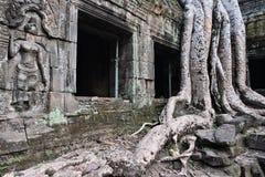 Cambodia temple Royalty Free Stock Photos
