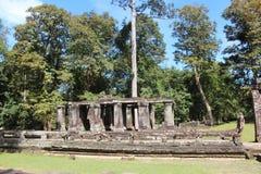cambodia Templo de Banteay Kdei Província de Siem Reap Cidade de Siem Reap Fotografia de Stock Royalty Free