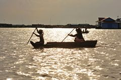 Cambodia, Tonle Sap Lake Royalty Free Stock Photography