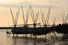 Cambodia, Tonle Sap Lake Royalty Free Stock Image