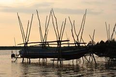 Cambodia, Tonle Sap Lake Royalty Free Stock Image