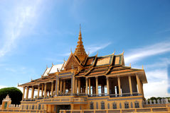 cambodia tusen dollarslott Royaltyfri Fotografi