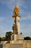 Cambodia Vietnam Friendship Monument Stock Photography