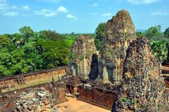 Cambodia - View of Benteay Samre temple Stock Images