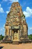 Cambodia - View of Benteay Samre temple. Angkor Wat, Siem Reap area (Cambodia) - View of Benteay Samre temple, dedicated to the hindu god Shiva Royalty Free Stock Photo