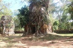 cambodia Ville de Koh Ker Landau de Prasat Photo libre de droits