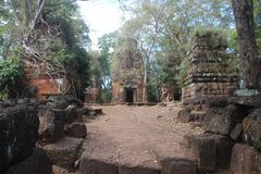 cambodia Ville de Koh Ker Landau de Prasat Province de Preah Vihear Ville de Siem Reap Image stock