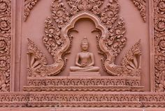 Cambodian architecture Royalty Free Stock Photos