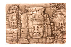 Cambodian Art Isolated Royalty Free Stock Photo