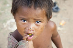Cambodian boy Stock Photo