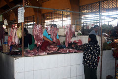 Cambodian butchery Stock Images