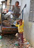 Cambodian Children Royalty Free Stock Photos