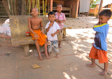 Cambodian children Royalty Free Stock Images