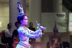 CAMBODIAN CLASSICAL DANCES Stock Photos